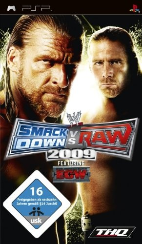 WWE Smackdown vs. Raw 2009 (Wrestling Psp-spiele)