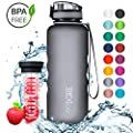 """720°DGREE Tritan Trinkflasche """"uberBottle"""" – 1.5 Liter   Wasserflasche BPA-Frei Auslaufsicher  Sportflasche, Sport, Schule, Fitness, Fahrrad"""