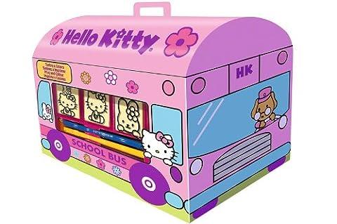 Noris 60 631 9803 - Hello Kitty Stempel Set Haus
