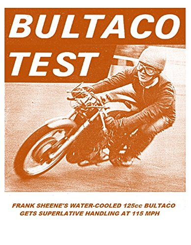 BULTACO 125cc GP RACER TEST REPORT 1966 (English Edition)