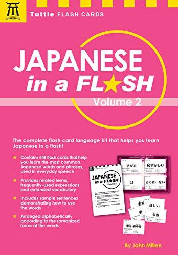 Japanese in a Flash: Volume 2 (Tuttle Flash Cards) - Flash-karten Kinder Japanische Für