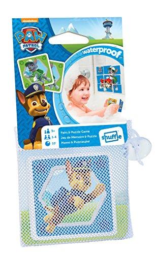 ASS Altenburger 22583112 - Paw Patrol - Aqua Game, Memo und Puzzlespiel - Wasserfeste Karten (Paw Spiel Patrol)