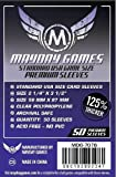 Mayday Games 7076 Usa Boared Game Sleeves, Dark Purple