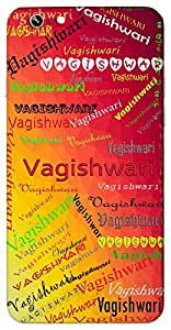 Vagishwari (Popular Girl Name) Name & Sign Printed All over customize & Personalized!! Protective back cover for your Smart Phone : Motorola Moto - X-3 ( 3rd Gen )