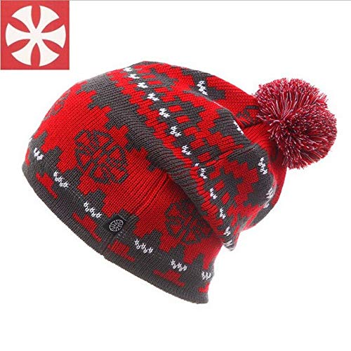 HATCHMATIC Winter Ski Hut Snowboard Winter Ski Skating Skullies Caps Hte Mtzen Kopf warm fr Mnner Frauen: 09, eine Grße