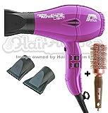 Parlux Advance Light Ionic and Ceramic Hair Dryer - Purple + Free Brush
