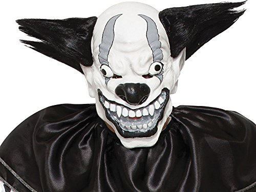 Herren unheimlich Halloween Kostüm Party Outfit Horror Kostüm Böser Clown ()
