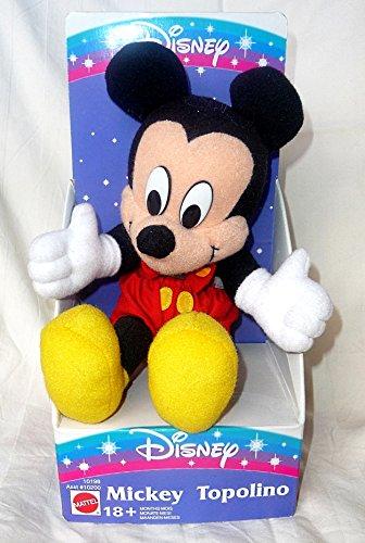 DISNEY Plüschfigur Mickey Mouse ca. 24cm original Neuware aus den 90ern