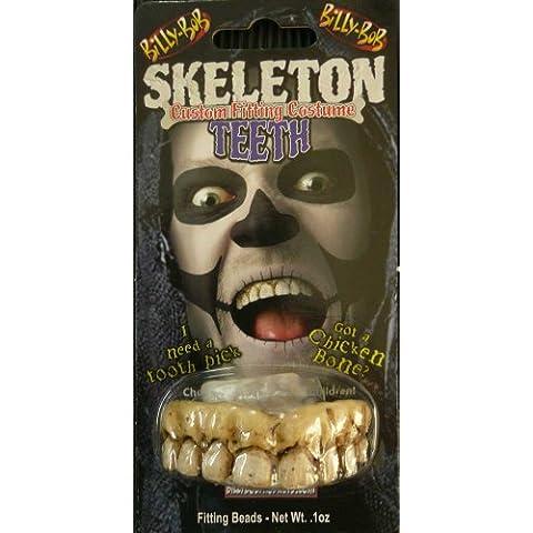 Billy Bob Halloween falsos dientes, esqueleto