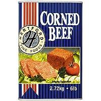 Hertford carne en lata 2.72Kg (Pack de 6 x 2.72kg)