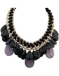 Halsketten & Anhänger N E U Tropf-Trocken VertrauenswüRdig Halskette Metall Und Kautschuk 45cm