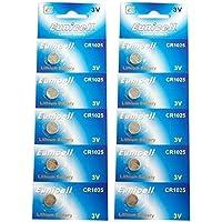 Eunicell CR1025 5033LC Lithium Blister Pack 3V 3 Volt Coin Cell Batteries (10 pcs) by Eunicell preisvergleich bei billige-tabletten.eu