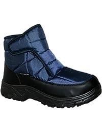 Botas de invierno Thermo-Tex CW82, para hombre, ligeras, impermeables, con forro de pelo