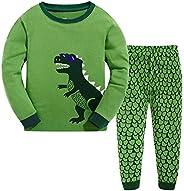 Garsumiss - Set Pigiama dinosaurio per Bambino, Taglia 1 Anno - 9 Anni