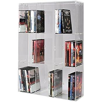 Sora Support Acrylique Blu Ray Avec Panneau Arriere Transparent