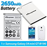 Mbuynow 2650mAh Li-ion Batterie rechargeable Batterie de remplacement de haute capacité pour ...