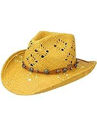 Stetson Cappello di Paglia Western Rafia Estivo da Sole Cappelli Spiaggia 5c91f333a62d