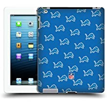 Official NFL Patterns 2017/18 Detroit Lions Hard Back Case for iPad 3 / iPad 4