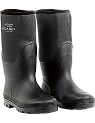 Fladen Authentic Wear Neoprene Boots - Black, Size 11/46