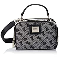 Guess Womens Cross-Body Handbag, Black - SG766870