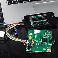 """starter Analizador Lógico Digital - LA104 USB Mini 4 Canales Velocidad de muestreo máxima de 100Mhz Construido en 8MB Almacenamiento Flash Osciloscopio DE 2.8"""""""