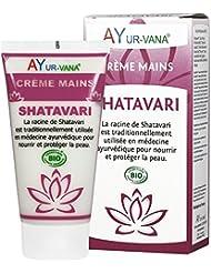 AYur-vana Shatavari Crème Mains Bio 75 ml