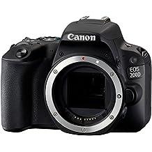 Canon EOS 200D Boîtier d'appareil-photo SLR 24.2MP CMOS 6000 x 4000pixels Noir - appareils photos numériques (24,2 MP, 6000 x 4000 pixels, CMOS, Full HD, Écran tactile, Noir)