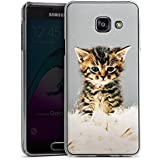 Samsung Galaxy A3 (2016) Housse Étui Protection Coque Bébé chat Kitten Chaton
