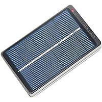 perfk Solarpanel Batterieladegerät Solarzellenplatte Für 4er AA AAA Akkus, Premium Qualität