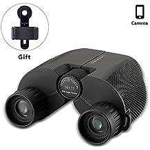 10x25 Mini Binoculares para niños adultos para juegos y conciertos de deportes al aire Portátiles Prismáticos compactos, duradera para observación de aves HD Pequeños Plegable para Visión Aérea 0.5Ib