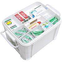 GJ@ + Medizinbox Familie Erste-Hilfe-Set Haushalts-Aufbewahrungsbox Große Aufbewahrungsbox Aus Kunststoff Zweischichtiges... preisvergleich bei billige-tabletten.eu