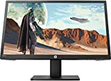 HP 22x Monitor Gaming TN, Schermo 22 Pollici FHD, Risoluzione 1920x1080, Altoparlanti Integrati, Tecnologia AMD FreeSync, Tempo Risposta 1 ms Overdrive, Frequenza 144 Hz, Regolabile in Altezza, Nero