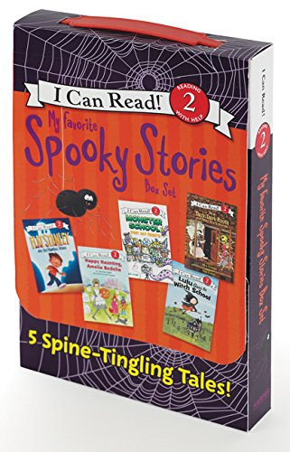 My Favorite Spooky Stories Box Set: 5 Silly, Not-Too-Scary Tales! (I Can Read! Level 2) por Various