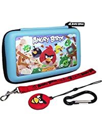 New 3d Angry Bird Gamer Housse de transport pour Nintendo Dsi/3ds Silverhill Tools _amp; mousqueton