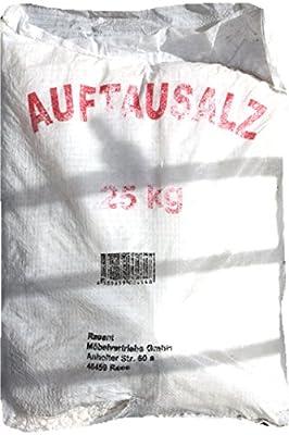 Auftausalz mit grober Körnung, dadurch langanhaltende Auftaufunktion, 25,0 kg Sack