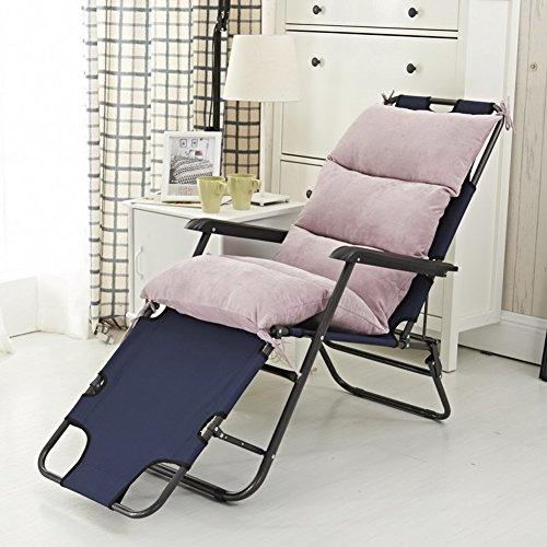 YU&AN Rocking Stuhl Kissen,Stuhl Kissen Lange,Verdickung Anti-Rutsch Stuhlkissen Outdoor-Kissen Für Garten Schreibtisch Office-B 50x120x6cm(20x47x2inch)
