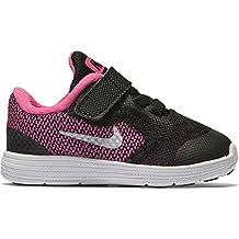 Nike Revolution 3 (Tdv), Zapatos de Recién Nacido para Bebés