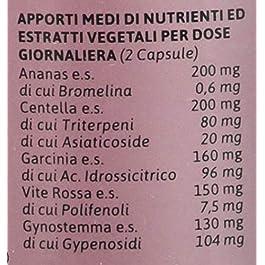 BIOSNEL Formula Potenziata Salugea – Integratore per la cellulite e la ritenzione idrica: depura e sfiamma – 100…
