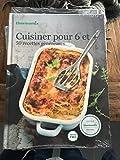 Livre Thermomix Cuisiner pour 6 et + Plus Vorwerk