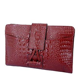 ATR Krokodilmuster Leder Weibliche Clutch Bag Western Gezeiten Mode Einzelne Schulter Diagonal Tasche Kleine Tasche,A,Brieftasche