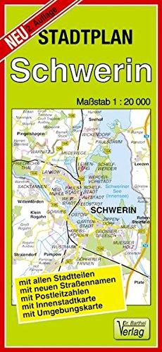 Stadtplan Schwerin: Maßstab: 1:20000