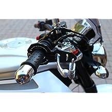 Antifurto moto e casco combinato Standard Nero con lucchetto Abus