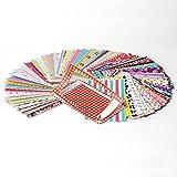 Borde adhesivo decorativo para fotos en papel de foto 2x3 para Fuji Instax Mini 9, 26, 8, 7 Instant Camera Projects - Pack de 100