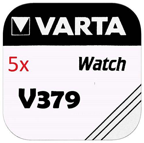 VARTA KNOPFZELLEN 379 SR521SW (5 Stück, V379)
