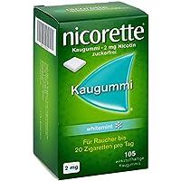 Preisvergleich für Nicorette 2 mg whitemint Kaugummi, 105 St.