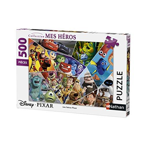 Nathan-Puzzle Les Héros Pixar 500Piezas, 87216