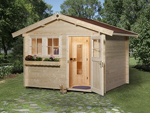 Weka Saunahaus 139 Gr. 1 inkl. 7,5 kW Sauna-Ofen (OS)