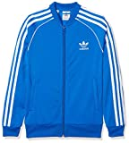 adidas Kinder SST Originals Trainingsjacke, Blue, 158