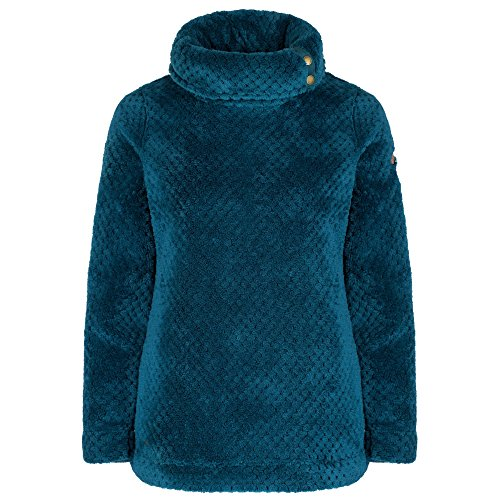 Regatta Hera Sweat-Shirt Femme, Light Vanilla, 10 Deep Teal