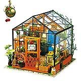 Rolife 3D DIY Modelo de casa de muñecas con Luces Miniatura de Madera...